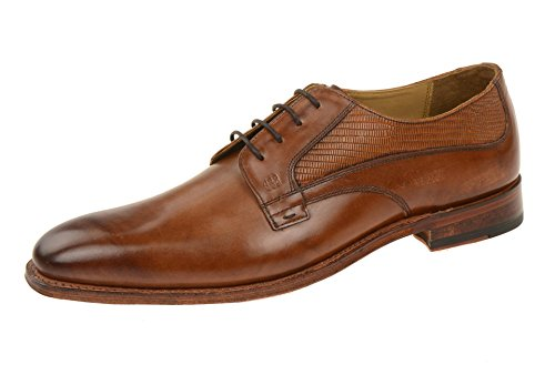 Gordon & Bros5098-k Brown-tan - Stringata classica Uomo Marrone