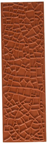ColorBox 69350 Crackle Background Molding - Polymer Clay For Stamps Rubber