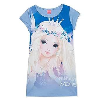 Disney Multi Color Round Neck T-Shirt For Girls