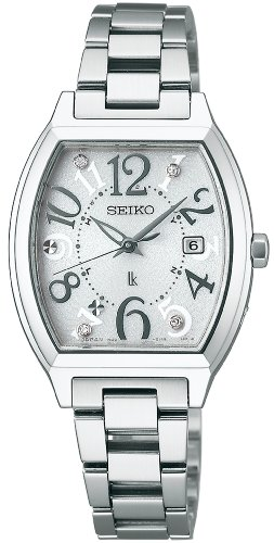 Seiko Lukia Sapphire Glass Super Clear Coating Solar Electric Wave Correction Ssvw047 Ladies Watch Japan Import