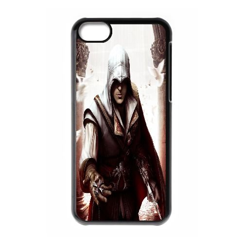 Ezio Auditore Da Firenze 006 coque iPhone 5C Housse téléphone Noir de couverture de cas coque EOKXLLNCD15783
