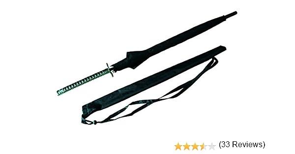 Japonesa espada Samurai paraguas y#x2605; Katana estilo y#x2605; Nylon paraguas espada y#x2605; Estuche con Honda#x2605; 100% devolución: Amazon.es: Deportes y aire libre