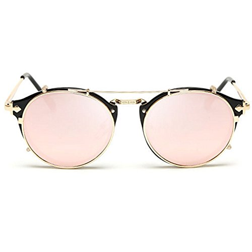 GUGGE Womens Full Frame Metal Fashion Cool Fashion - Occ Sunglasses