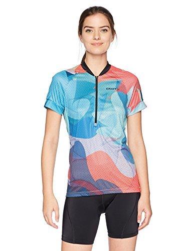 2019春の新作 Craft Women's Velo Art UPF 50+ Bike Pockets Cycling Bike Large Jersey with Pockets Galactic/Dahlia Large [並行輸入品] B07K1B2BZT, TSP+Plus:52785e9f --- arianechie.dominiotemporario.com