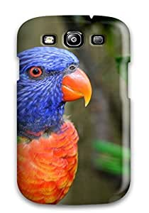 Defender Case With Nice Appearance (parrot) For Galaxy S3