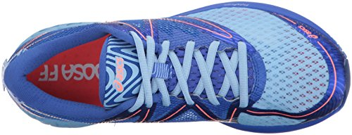 ASICS Womens Noosa FF Running Shoe Airy Blue/Blue Purple/Flash Coral qElBQ