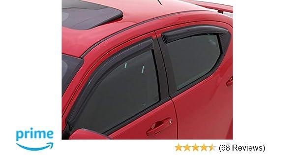4 pc for Volkswagon Jetta Auto Vent Shade AVS 94985 Smoke AVS Ventvisor
