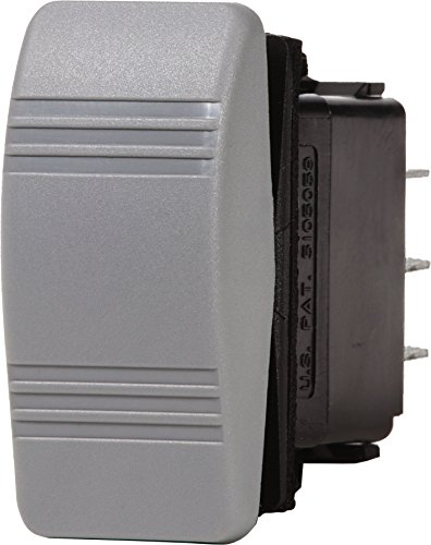Blue Sea Systems Contura OFF-(ON) SPDT Switch, Grey