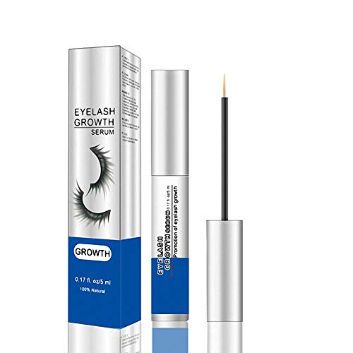 Natural Eyelash Growth Serum Enhancer, Rapid Lash Booster Primer Serum for Thicker Longer Fuller Lashes and Brows Enhancing with Blackhead Remover Mask