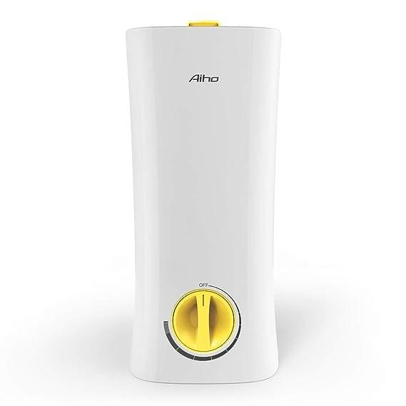 2,5L humidificador ultrasónico, aiho raumbefeuchter enfriador humidificador para oficina, de niño, Salón y dormitorio (hasta 30 ㎡ ), aroma difusor de ...