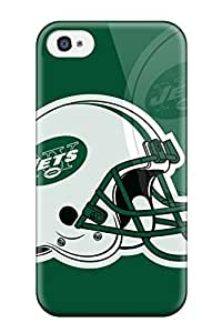 Excellent Iphone 4/4s Case Tpu Cover Back Skin Protector New York Jets