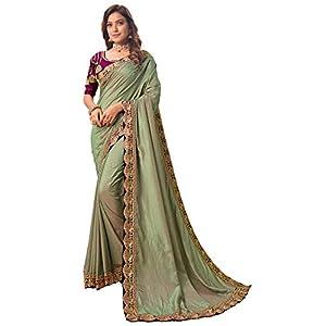 Latest Stylish Designer Party Wear New Silk Saree India 2021