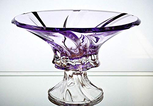 Bowl Fruit Republic (BOHEMIA CRYSTAL GLASS FOOTED BOWL-VASE