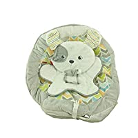 Fisher Price BOUNCER Replacement SEAT PAD & Infant Body Support / Cushion COVER , DTH04 SWEET SNUGAPUPPY DREAMS PAD