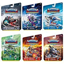 Skylanders SuperChargers Vehicle Character Pack (6) Pack Bundle: Crypt Crusher, Sea Shadow, Sky Slicer, Shark Tank, Stealth Stinger, Burn-Cycle]()