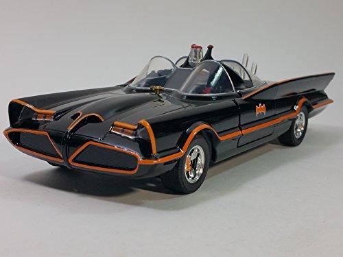 Jada METALS DC Comics 1966 Classic Batmobile Batman The TV Series 1/24 Scale DiecastCar