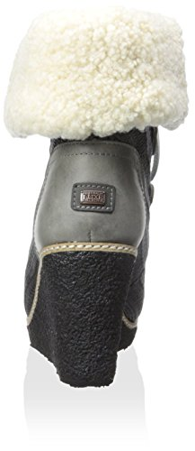 Boot Mona Lace Collective Hiker Luxe Wedge Women's Australia Gray Ankle Up qz7nwI