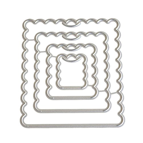 TOPUNDER Heart Metal Cutting Dies Stencils DIY Scrapbooking Album Paper Card -