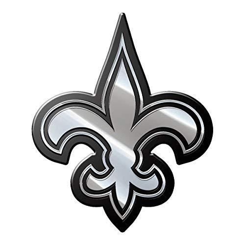 - NFL New Orleans Saints Premium Metal Auto Emblem