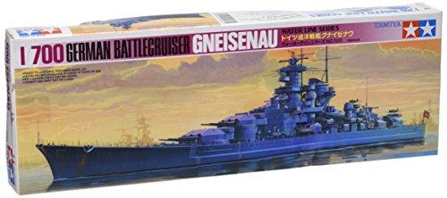 Tamiya Models Gneisenau Battleship