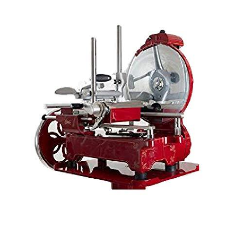 Berkel - Berkel Schwungrad Aufschnittmaschine TRIBUTE mit Schwungrad mit Blumen und Goldordnung - The Original