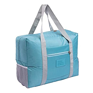 6ce27baa7100 Amazon.com: Women Men Large Travel Bag Waterproof Packing Cubes ...