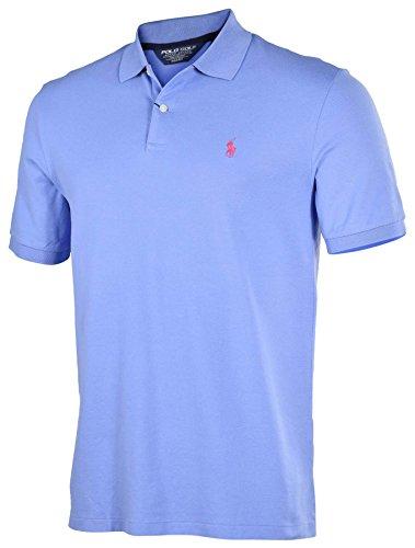 Polo Ralph Lauren Men's Pro Fit Mesh Golf Polo Shirt-Light Blue-Small