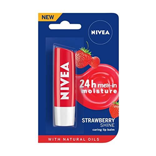 Nivea Lip Care Fruity Shine Strawberry, 4.8g