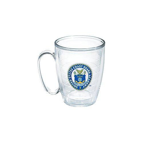 Mug Coast Guard (Tervis US Coast Guard Academy Emblem Individual Mug, 16 oz, Clear)