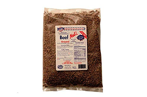 Dixie Diners' Club - Beef (Not!) Ground, 1 lb bag (Pack of 2) (Best Meat Alternatives For Vegetarians)