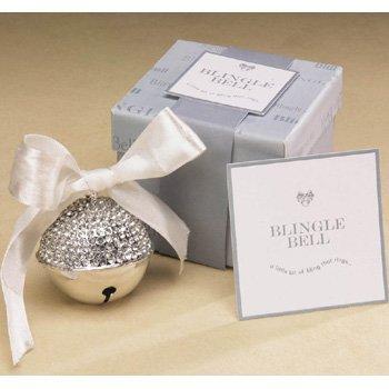 Silver Blingle Bell Ornament (Cannon Falls)