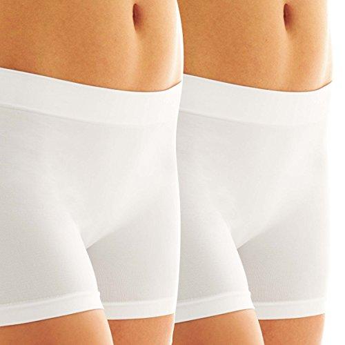 Microfiber Womens Dress - Jockey (2 Pack Microfiber Slip Shorts for Women Under Dress Anti Chafe Womens Underwear Smoothing