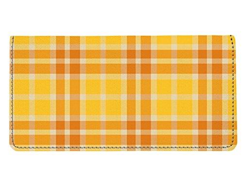 yellow checkbook cover - 2