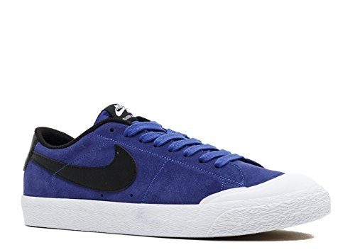 Nike SB Blazer Low XT Skateboard Shoe (10, Deep Night/Black/White) ()