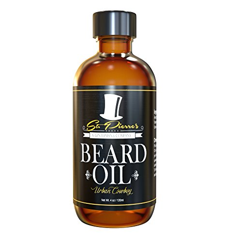 Best Sandalwood Beard Oil & Conditioner for Men – 4 oz – Urban Cowboy