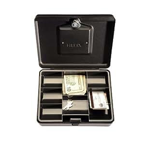 Helix Cash Box, 10 Inch, Black, Black (27012)