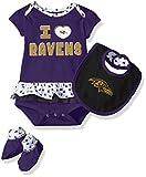 NFL Girls Newborn Baltimore Ravens Team Love