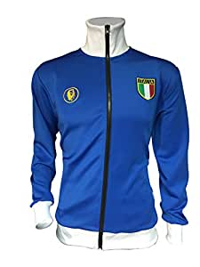 ITALY SOCCER WORLD CUP JACKET (YOUTH LARGE/XL--SIZE 28)