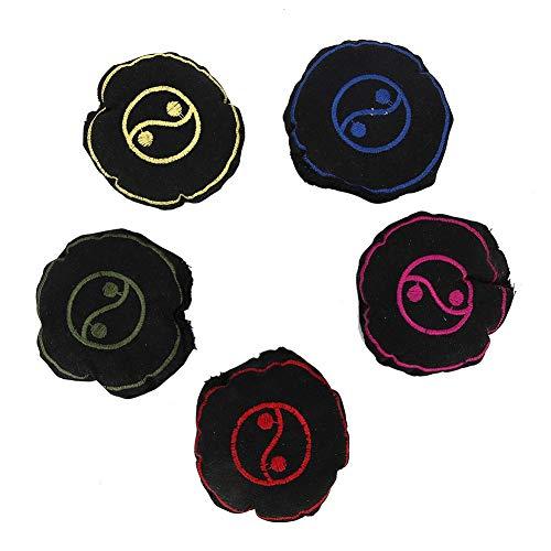 Moxa Bag, 5pcs Terapia de compresión cálida Alivio del Dolor Moxa Bag Health Care Moxibustion Bag con Warm moxibustion…