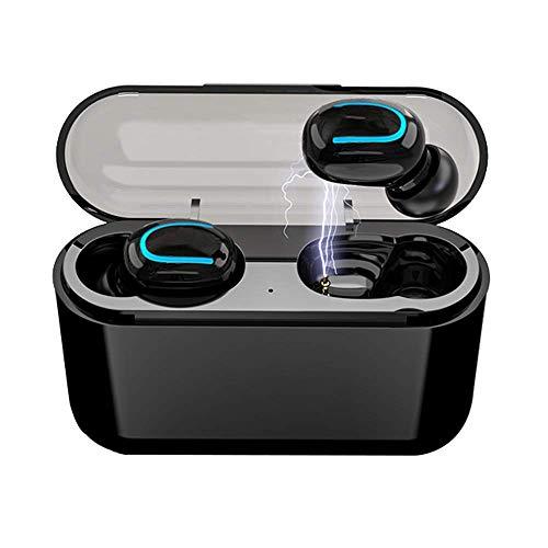 Wireless Earbuds Bluetooth 5.0, IPX5 Waterproof True Bluetooth Wireless Earbuds 3D Stereo Sport Wireless Headset Built-in Mic Sound in-Ear Bluetooth Earphone with 950mAh Battery Charging Case
