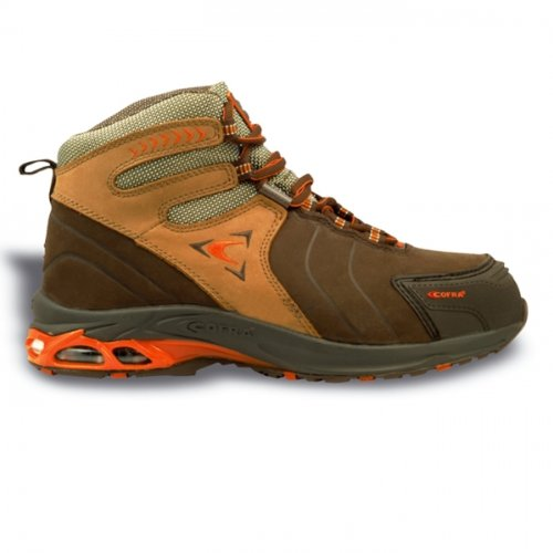 Cofra PJ011-000.W48 Bronx S3 Chaussure de sécurité Taille 48 Marron