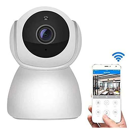 Wireless surveillance camera, wifi camera, 1080Pwith Night Vision, 2Way Audio, Cloud Service, Motion Detection for Baby/Elder/Pet Monitor camera,leilims