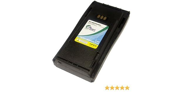 Battery for Motorola CP040 GP3188 GP3688 MTX888 NTN4851 NICD 1000mAh