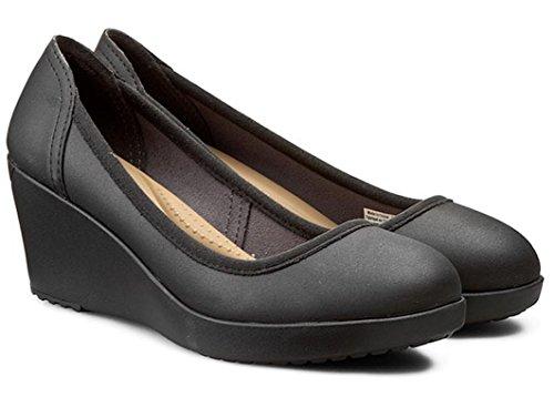Crocs Marin Colorlite Wedge W Blkack / Black W5 35