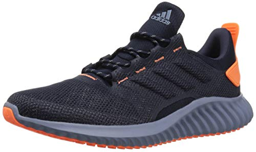 adidas Men's Alphabounce CR CC Running Shoe, Legend Ink/hi-res Orange/raw Steel, 6.5 M US