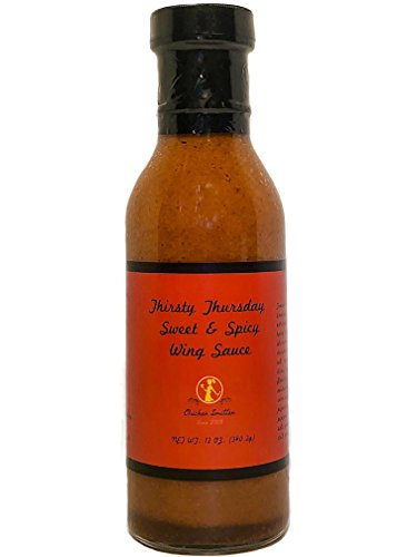 Thirsty Thursday SWEET & SPICY Wing Sauce | CRAFTED in Small Batches with Farm Fresh SPICES for Premium Flavor and Zest