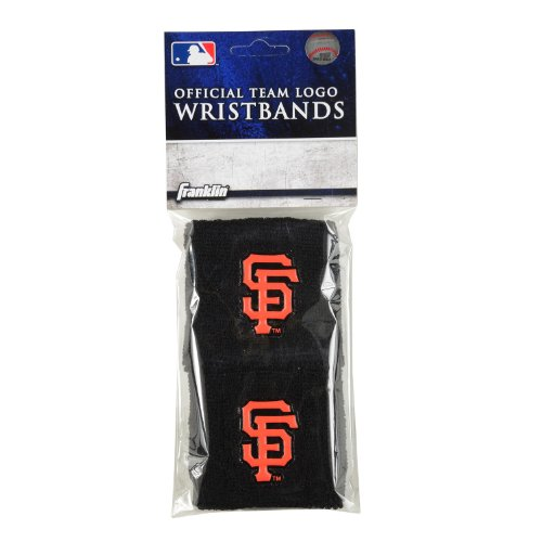 Franklin Sports MLB San Francisco Giants Team Wristbands (Francisco Merchandise San Giants)