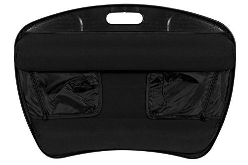 """LapGear XL Laptop Lap Desk with Left & Right Mouse Pads - Black (Fits upto 15.6"""" Laptop)"""