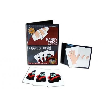 Magic Makers Paul Hallas Packet Trick Treasures: Handy Trick Collection & Vampire Dawn Packet Tricks with Teaching DVD -