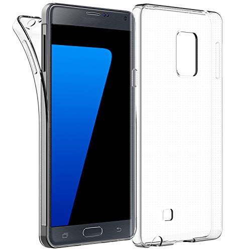 ung Galaxy Note 4, Shock-Absorption Cover, HD Clear ()
